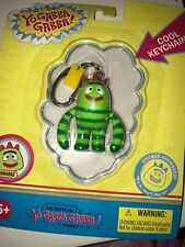 YO GABBA GABBA Official Keychain BROBEE Keyring Baby Green Monster Nick Retired