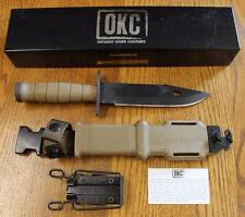 Ontario #1982 M11 EOD System Military Survival Knife & Tactical Sheath 420 Steel