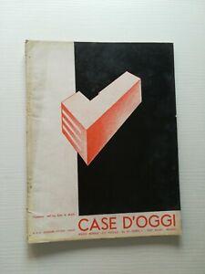 Architettura arredamento design CASE D'OGGI settembre/ottobre 1935
