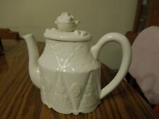 Lenox Butler's Pantry White Lace China Teapot