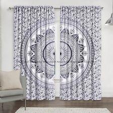 Indian Ombre Mandala Hippie Room Window Balcony Home Valance Curtains Door Drape