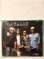 Van Halen Jump Live Maxi Single B/W Mine All Mine (Live) Pre Owned.