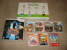 Wii Fit Balance Board, Dance Dance Revolution Hottest Party & Seven Games