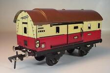 Fleischmann Spur 0 Blech Nr.401 gedeckter Güterwagen Packwagen  #7571