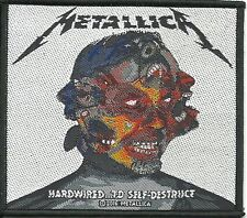 METALLICA hardwired to self ... 2016 - WOVEN SEW ON PATCH official merchandise