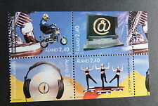 Mint Never Hinged/MNH Block Aland Stamps