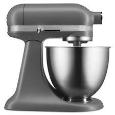 Kitchen Aid KSM3311XFG Artisan Mini 3.5 Quart Tilt Head Stand Mixer, Matte Gray