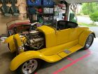 1927 Ford Model T  1927 Ford Model T Yellow RWD Automatic 350 Chevy runs great