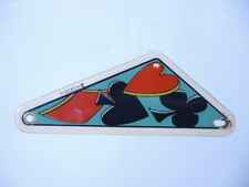 PINBALL FLIPPER PLASTICA 1 ORIGINALE Gottlieb DROP una carta