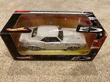 Hot Wheels 69 Chevy Camaro 1:24 White Car G Machines New Editions Series 1