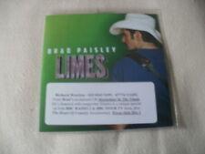 BRAD PAISLEY - LIMES - 2014 PROMO CD SINGLE