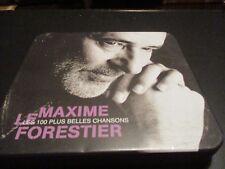 """COFFRET METAL 5 CD """"MAXIME LE FORESTIER - LES 100 PLUS BELLES CHANSONS"""" BEST OF"""