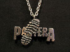 Pantera Official Vintage 1993 Pewter Necklace Uk Import Poker/Alchemy