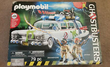 Playmobil Ghostbusters 9220 Set Ecto-1 Car, Slime, Zeddemore, Janine NEW