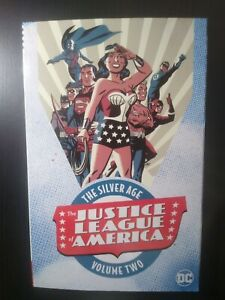 The Justice League of America: The Silver age vol. 2 brand new graphic novel