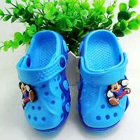 Children Garden Shoes Boys Girls Cartoon Summer Slippers for Kids Baby Sandals
