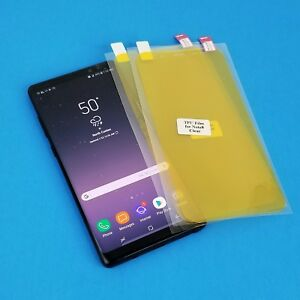 Full Anti-Scratch TPU Plastic Screen Protector LOT For Samsung Galaxy Note 8
