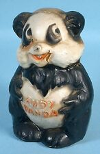 1939 Andy Panda Figural Composition Still Bank Early Walter Lantz Prod Crown Toy