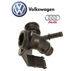 For Audi A4 A5 A6 Quattro Q5 Engine Coolant Hose Flange Genuine 06H-121-132 H