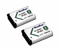 BATTERY x 2 for SONY NP-BX1 NPBX1 CyberShot DSC-RX100 XTYPE Camera TWO BATTERIES