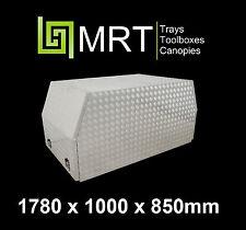 ALUMINIUM CROSS DECK UTE TOOLBOX 1780*1000*850mm TOOL BOX MRT25B CANOPY