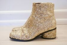 marc jacobs gold sequin boots 37