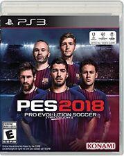 PES2018 Pro Evolution Soccer 2018 PlayStation 3 PS3 FREE