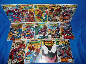 Spiderman Maximum Carnage 1-14 Complete Story Set Venom Amazing Unlimited 1st