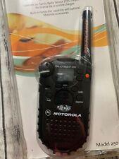 Motorola Talkabout Two-Way Radio Model 250