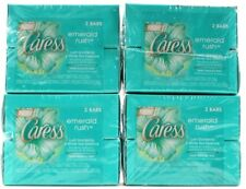 4 Caress Emerald Rush Lush Gardenia & White Tea Essence Fresh Beauty Bars