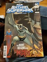 Batman/Superman #1 Joshua Williamson DC Comics
