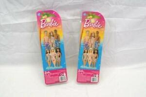 Lot 2 Barbie Of Teresa And Barbie Beach Wear 2012