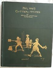 PHIL MAY 1896,GUTTER-SNIPES,50 ORIGINAL SKETCHED in PEN & INK, LIMITED EDITION