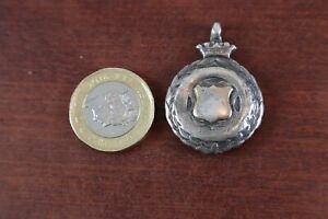 Antique / Vintage Silver pocket watch fob H.P. 15.62 grams