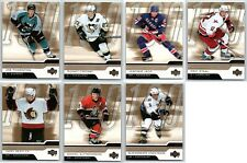 2006-07 UPPER DECK CENTURY MARKS COMPLETE 7 Card Insert Set Lot Crosby Ovechkin