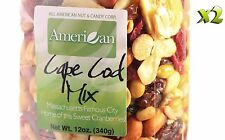 24oz Gourmet Style Bag of Cape Cod Cranberry Mix with Fruits & Nuts [1 1/2 lb.]