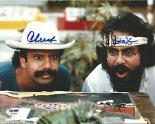 Cheech Marin & Tommy Chong Signed 8x10 Photo PSA/DNA COA Nice Dreams Lizard Auto