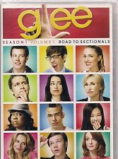 GLEE SEASON 1 PART 1 ROAD TO SECTIONALS (DVD, 2010, 3-Disc Set) NEW