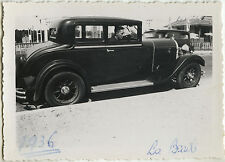 PHOTO ANCIENNE - VINTAGE SNAPSHOT - VOITURE AUTOMOBILE TACOT LA BAULE -OLD CAR 1