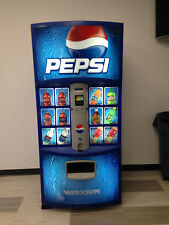 Pepsi Vending Machine Dixie Narco 600E-9 HVV 12,16 & 20 oz Made in USA (Refurb)