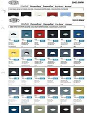 2002 BMW (CAR) PAINT CHIPS (DUPONT)