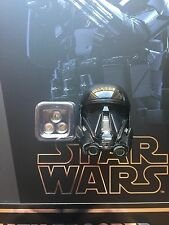 Hot Toys SW Rogue una muerte Trooper especialista LED Casco esculpir Suelto Escala 1/6