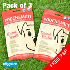 Bionic Biotic Dog Natural Health Supplement Skin Coat and Digestion Pooch & Mutt