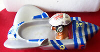 SOAP DISH 1999 Star Wars Soap Dish Space Craft Lucasfilms Rubber like material