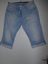 7/8 Damen-Jeans Gr. 42 ,  kaum getr.