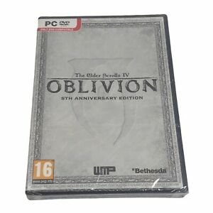 The Elder Scrolls IV OBLIVION [ 5th Anniversary Edition ] (PC / DVD-ROM) NEW