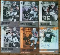 2019 Panini Illusions Vegas Oakland Raiders Team Set with Inserts and Auto