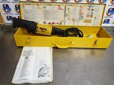 REMS Tiger Reciprocating Saw 110v Pipe Saw In Metal Case (Vat)