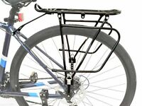 Lumintrail Adjustable Bicycle Rear Frame Mounted Cargo Rack for Disc Bikes