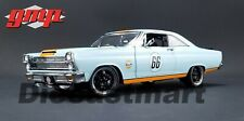 "1967 FORD FAIRLANE ""GULF OIL"" LIGHT BLUE LTD ED 600 PCS 1:18 MODEL BY GMP 18858"